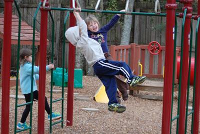 Children having fun at ECM day care in Huntsville